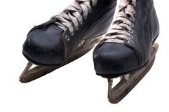 Men's Ice Skates Royalty Free Stock Images