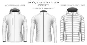 Men`s jackets collection Stock Photo