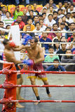 Men's Kick Boxing Action (Blurred) Stock Photo