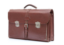Men's leather bag Royalty Free Stock Photos