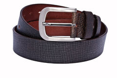 Men's leather belt Stock Image