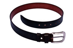 Men's leather belt Royalty Free Stock Photo