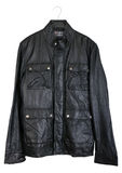 Men's leather jacket Stock Photo