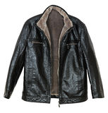 Men's leather jacket Stock Photography