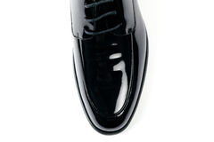 Men's leather shoe Royalty Free Stock Photography