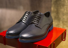 Men's Leather Shoe Royalty Free Stock Images
