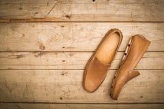 Men's Loafer Shoe Stock Images