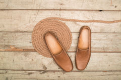 Men's Loafer Shoe Royalty Free Stock Photo