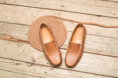 Men's Loafer Shoe Stock Image