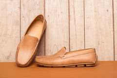 Men's Loafer Shoe Royalty Free Stock Images