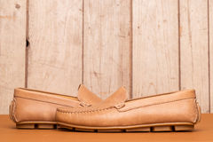 Men's Loafer Shoe Stock Photography