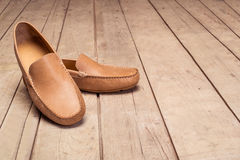 Men's Loafer Shoe Stock Photo