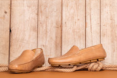 Men's Loafer Shoe Stock Photos