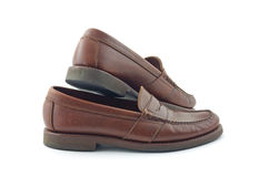 Men's loafers Royalty Free Stock Images