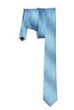 Men's necktie on a white background. One silk men's necktie on a white background Stock Image