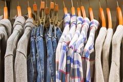 Men's odzież Zdjęcie Stock