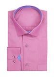 Men's pink shirt Stock Photo