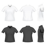 Men's polo t-shirts Stock Photo