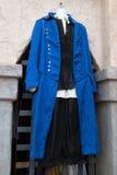 Men`s Renaissance Clothing Boutique Royalty Free Stock Images