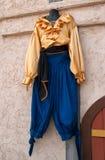 Men`s Renaissance Clothing Boutique Stock Photos