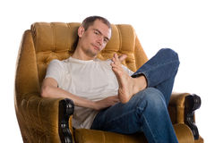 Men's rest Stock Image