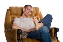 Men's rest Stock Image