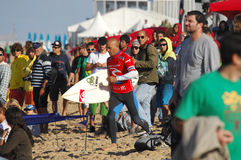 Men's Rip Curl Pro Portugal 2010 Royalty Free Stock Photos