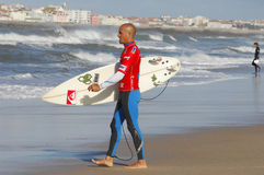 Men's Rip Curl Pro Portugal 2010 Stock Photo