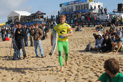 Men's Rip Curl Pro Portugal 2010 Stock Photography