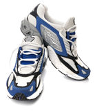 Men's running shoes Stock Image