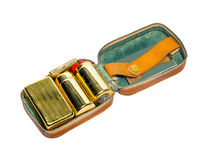Men's shaving kit. Royalty Free Stock Photo