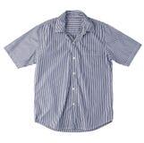 Men shirt isolated on white  Royalty Free Stock Photos
