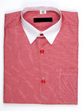 Men's shirt, collar Stock Photography