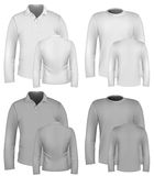 Men's shirt design templates Stock Images