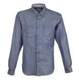 Men`s shirt with long sleeves Stock Photos