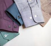 Men's shirt sleeves Stock Photo
