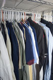 Men's Shirts Stock Photography