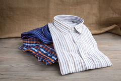 Men's shirts Royalty Free Stock Image