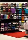Men's shirts shop Royalty Free Stock Images