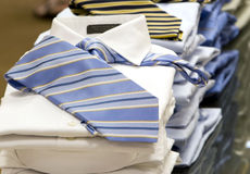 Men's Shirts & Ties Stock Images