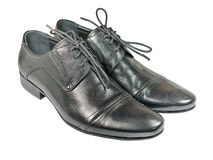 Men's shoes. Stock Photos