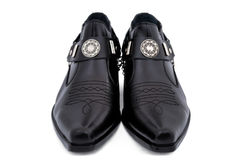 Men's shoes. Stylish men's shoes on a white background Stock Image