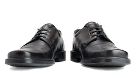 Men's shoes. On white background Stock Image
