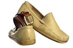 Men's shoes Stock Images