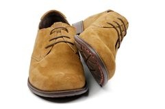 Men's Shoes Royalty Free Stock Image