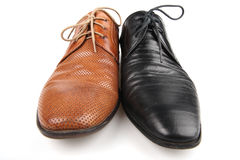 Men's shoes Royalty Free Stock Photos
