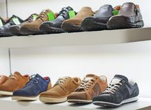 Men`s shoes. royalty free stock photography