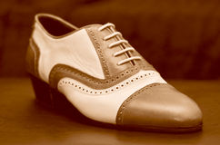 Men's Shoes. Especially handmade shoes for men Stock Photo