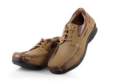 Men's shoes Stock Images