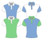 Men's short sleeve polo shirt. Royalty Free Stock Photo